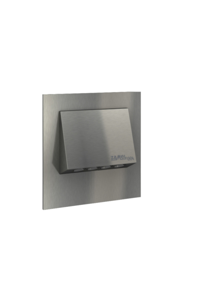 NAVI Ledix, Rozsdamentes szín, melegf. 3100K, 14V, IP20, süllyesztett, fényerőszabályozható, 11-214-22