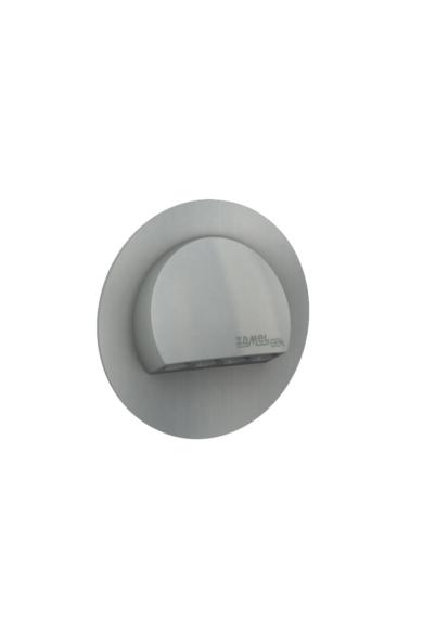 RUBI Ledix, ALU szín, melegf. 3100K, 230V, IP20, süllyesztett, fényerőszabályozható, 09-224-12
