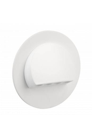 RUBI Ledix, Fehér szín, melegf. 3100K, 230V, IP20, süllyesztett, fényerőszabályozható, 09-224-52