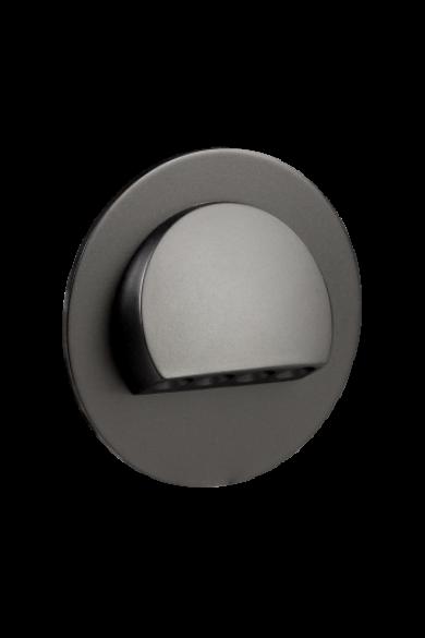 RUBI Ledix, Fekete szín, hidegf. 5900K, 230V, IP20, süllyesztett, fényerőszabályozható, 09-224-61