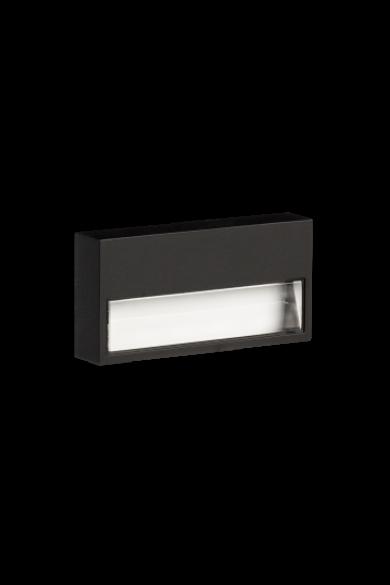 SONA Ledix, Fekete szín, melegf. 3100K, 14V, IP44, felületre szerelhető, 12-111-62