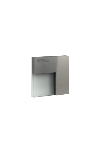 TIMO Ledix, Rozsdamentes szín, hidegf. 5900K, 14V, IP44, felületre szerelhető, 06-111-21