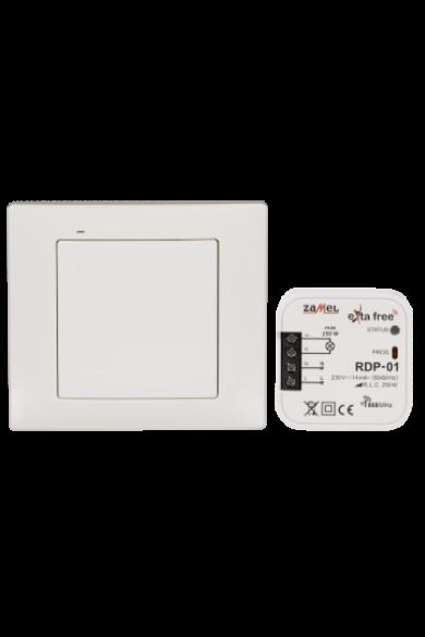 EXTA FREE Távvezérlő szett – világítás, fényerőszabályozható (RNK-02 + RDP-01) RZB-02