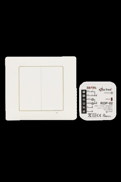 EXTA FREE Távvezérlő szett – világítás, 2 csatornás (RNK-04 + ROP-02) RZB-04