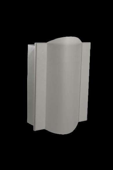Kétszólamú gong, 230V, fehér, 405-VDE-BIA
