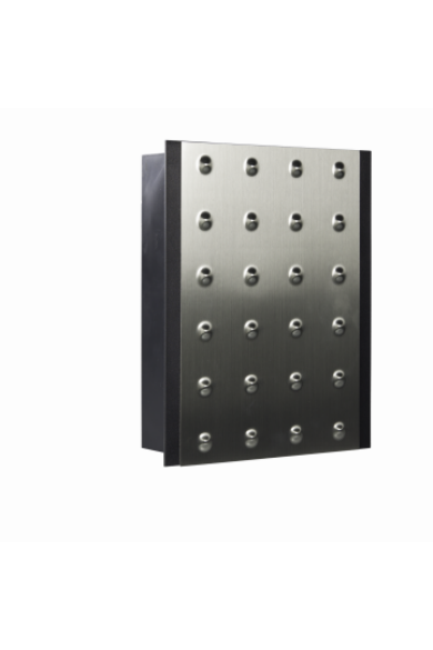 Kétszólamú gong, 230V, antracit, 411-VDE-SRB