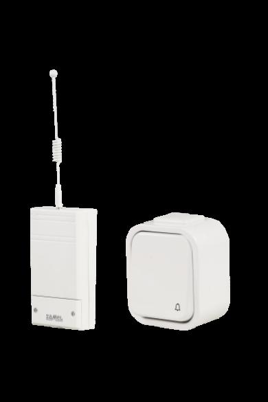 Vezeték nélküli csengő szett, 230V, fehér, BSD-202H