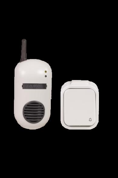 Vezeték nélküli csengő szett, 230V, fehér, DRS-982H