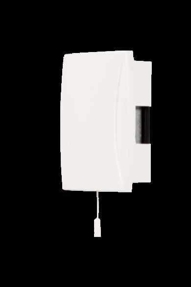 """Gong """"BIM-BAM"""" kapcsolóval, 230V, fehér, GNS-921-BIA"""