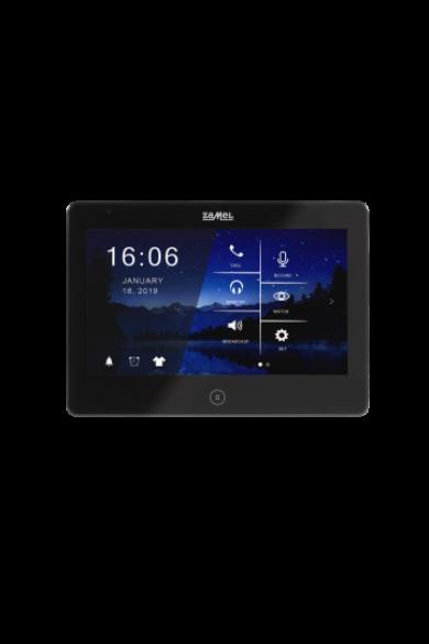 """10,1"""" színes, LCD érintő videó kaputelefon monitor, DVR funkció, WiFi, fekete, 1920x1080 HD, VP-810BHD"""