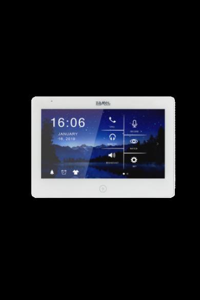 """10,1"""" színes, LCD érintő videó kaputelefon monitor, DVR funkció, WiFi, fekete, 1920x1080 HD, VP-810WHD"""