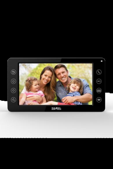 "7"" színes, LCD videó kaputelefon monitor, WiFi, fekete, 800x480px, VP-819B"